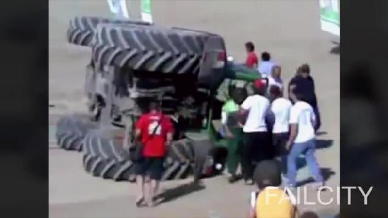 ULTIMATE TRACTOR FAILS 2015 ★ EPIC 8mins Tractors FAIL - WIN Compilation