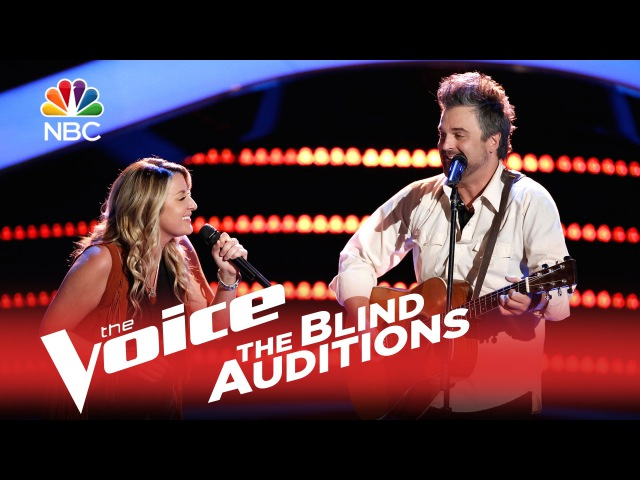 The Voice 2015 Blind Audition Jubal and Amanda Seven Bridges Road
