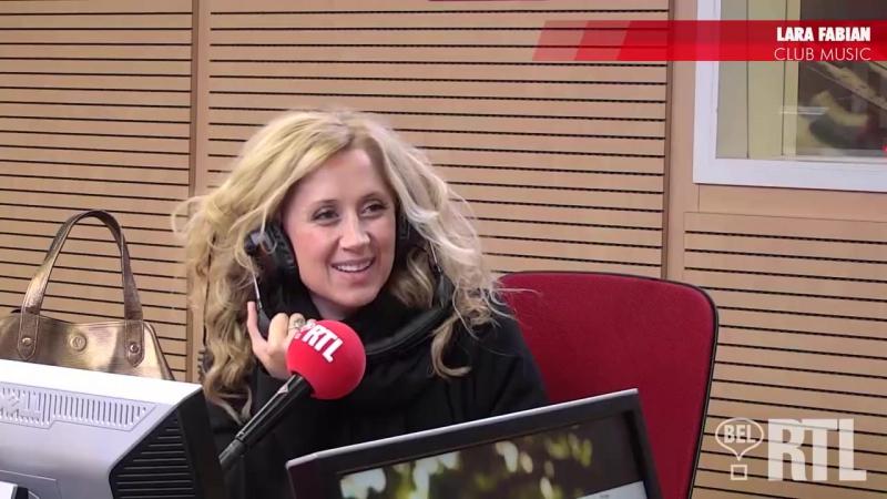 Lara Fabian est linvitée de Serge Jonkers, Club Music, Bel RTL