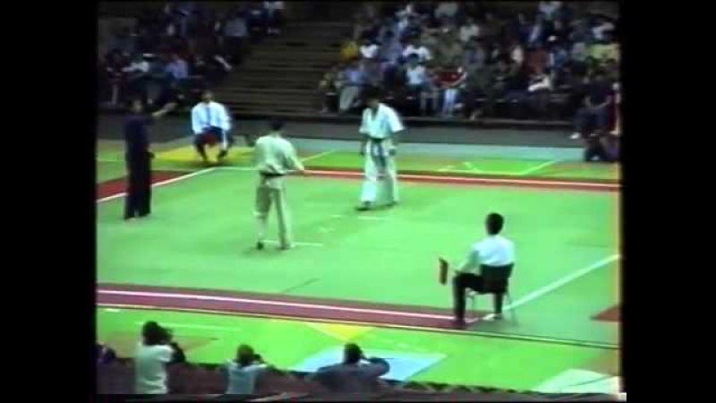 Киев 1990 матчевая встреча по каратэ киокушинкай Япония СССР