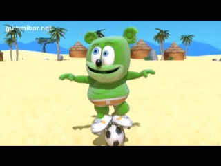Клипы для детей gummibг¤r a jugar! world cup soccer football song spanish gummy bear osito gominola