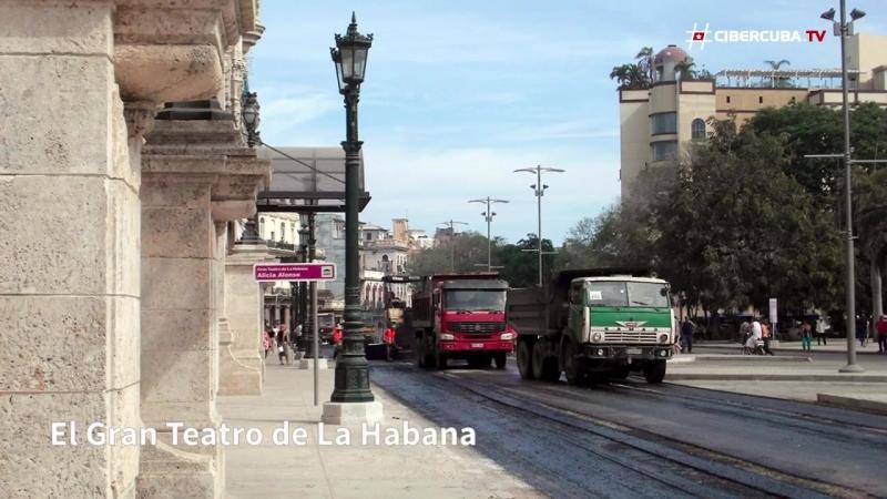 Así está quedando La Habana por la visita de Barack Obama Куба готовиться к визиту