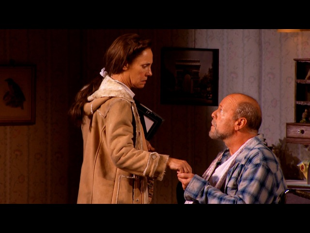 Broadway Show Clips Bruce Willis and Laurie Metcalf in MISERY (Stephen King)