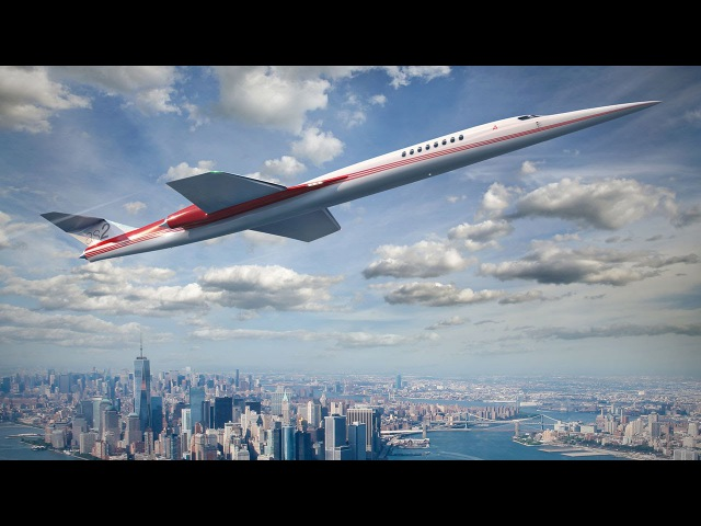 Is The Aerion Supersonic Business Jet Finally Set to Become a Reality AINtv