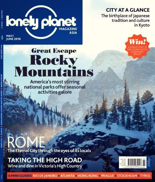 Lonely Planet Asia - May-June 2016