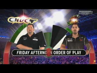 Alan Norris vs Jelle Klaasen (PDC World Darts Championship 2016 / Quarter Final)
