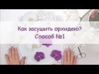 ЮВЕЛИРНАЯ СМОЛА || Как засушить орхидею? How to press and dry an orchid?