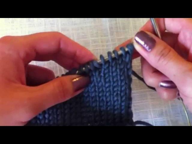 Укороченные ряды Частичное вязание. Смотрим видео мастер классы