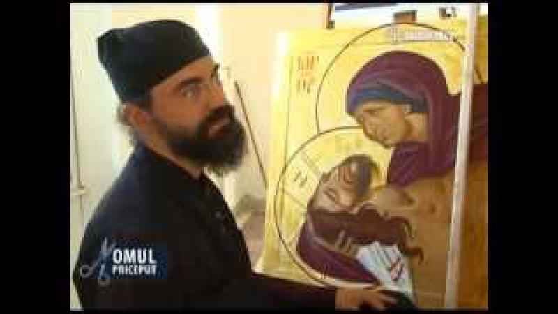 Părintele iconar Iacob de la chilia athonită Sfântul Tihon