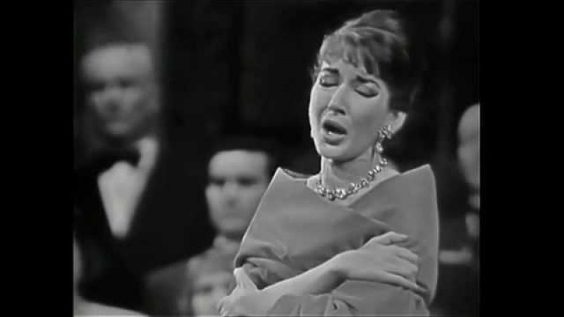 Maria Callas Casta diva Paris 1958