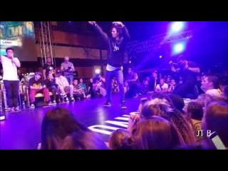 Les Twins Larry's Beautiful Freestyle and Laurent's Beatbox FairPlayDanceCamp2016