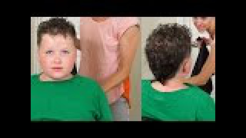 How to cut Boys Curly Hair Stylish boys fohawk
