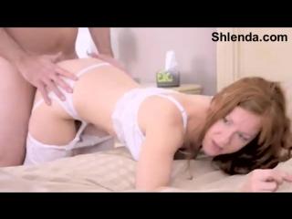Роскошную сисястую зрелую мамашу в чулочках трахают в анал. Домашнее любительское частное порно видео mature mom in stockings