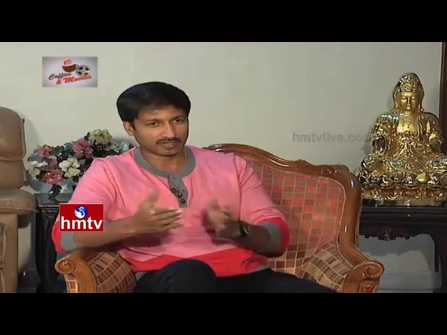 Hero Gopichand Exclusive Interview Soukyam Movie Experience Coffees Movies HMTV