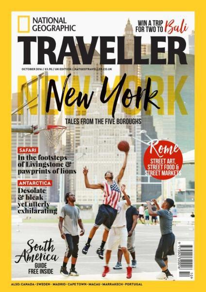 National Geographic Traveller UK - October 2016