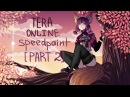 Tera Online Part 2 [Speedpaint] - Paint Tool SAI