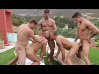 Pool party philip aubrey, adam killian, jessie colter, trenton ducati, hans berlin [720p]