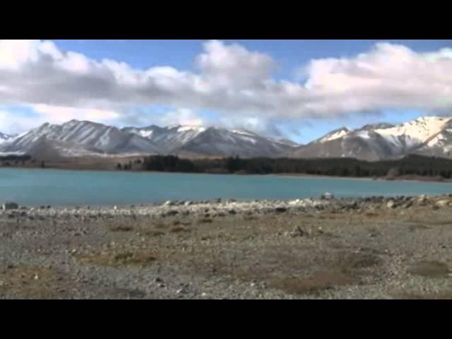 Lake Tekapo, New Zealand - Озеро Текапо, Новая Зеландия