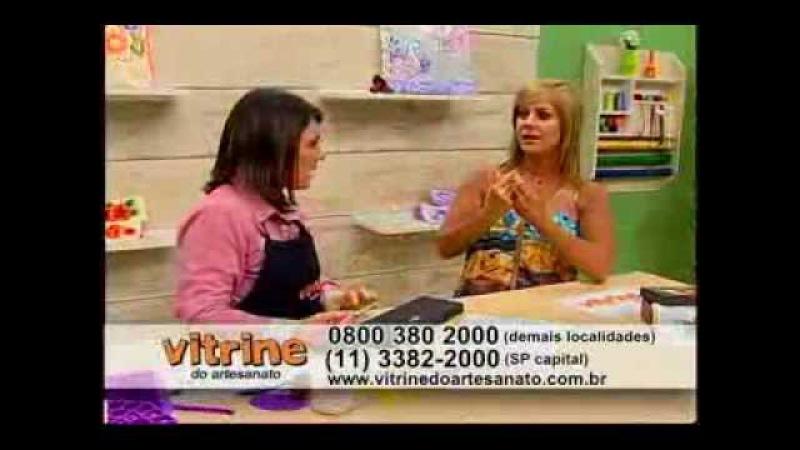 Pintura gestual em caixa com Denise Emery Vitrine do Artesanato na TV