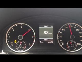 ЧИП ТЮНИНГ VW Tiguan 2.0 TDI разгон 0-100