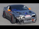 Brill Steel S14 Nissan Silvia Turbo LM7 V8 Chevy Engine - First Drifting Test!