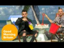 Joe Jonas Eats Cake By The Ocean With Ben And Kate! | Good Morning Britain