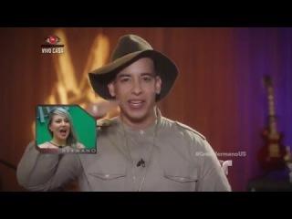 """Сообщение от Daddy Yankee для финалистов телешоу """"Gran Hermano"""""""
