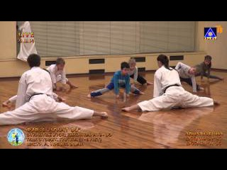 "Karate kids 0-я подготовит гр ""Архат До"" 4-5 лет открытый урок 21 12 2014г"