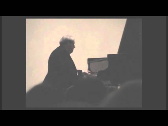 Grigory Sokolov plays Scriabin Prelude Nocturne for the left hand alone Op 9