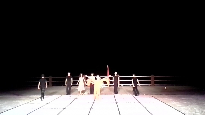 финал балета Роковая любовь Curium Cyprus 24 07 2016г