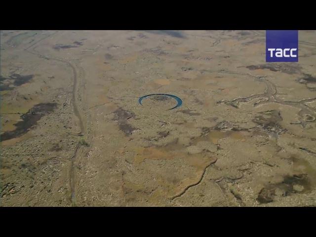 В Аргентине обнаружен круглый вращающийся остров