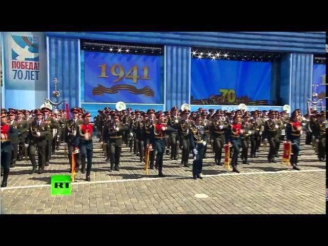 Обалденно подобранная песня в конце Парада Победы Мы армия страны