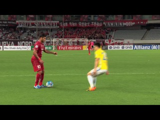 Odil Ahmedov heads Shanghai SIPG into a 2-1 lead!