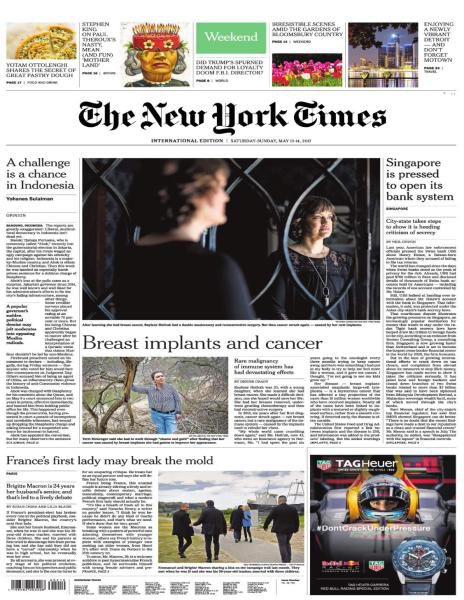 International New York Times 13 May 2017p FreeMags