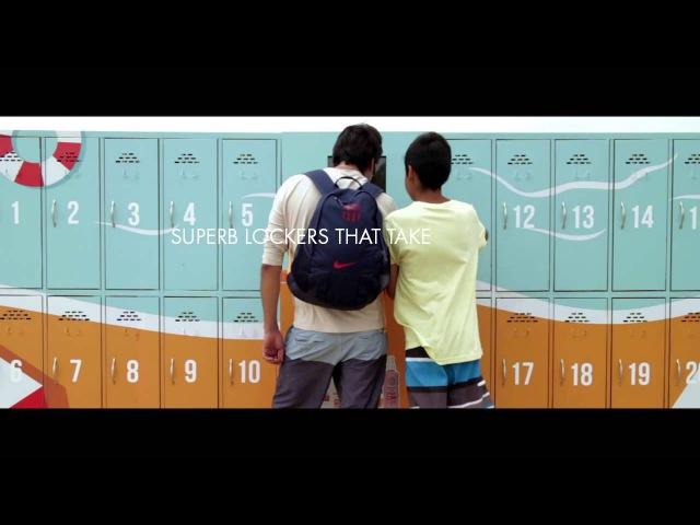 Ambient marketing Simond's Protecting Lockers