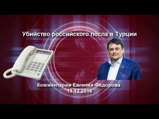 Убийство российского посла в Турции. Комментарии Евгения Фёдорова