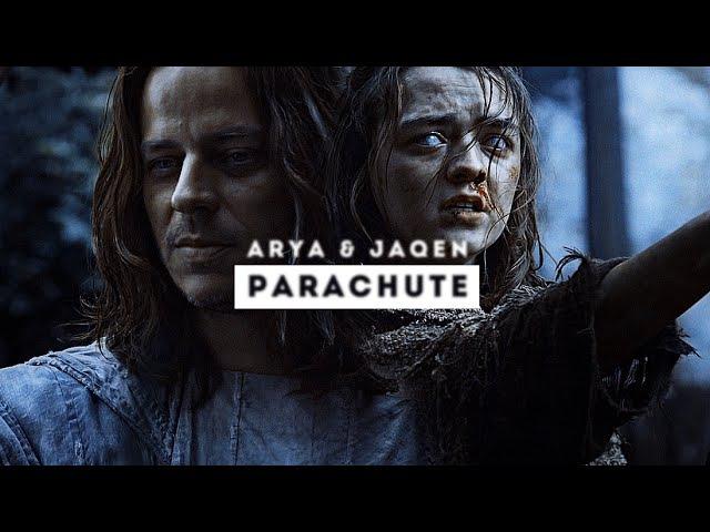 ■ arya jaqen parachute
