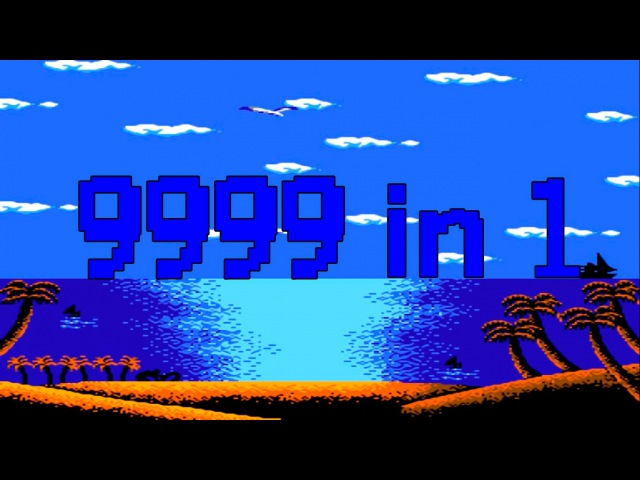 9999 in 1 Dandy Nes Famicom HD