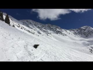 Arapahoe basin East Wall Snowboarding