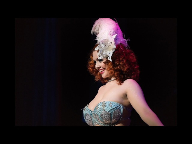 Queen of Burlesque 2016 Minxie Mimieux at the 8th Annual New Orleans Burlesque Festival