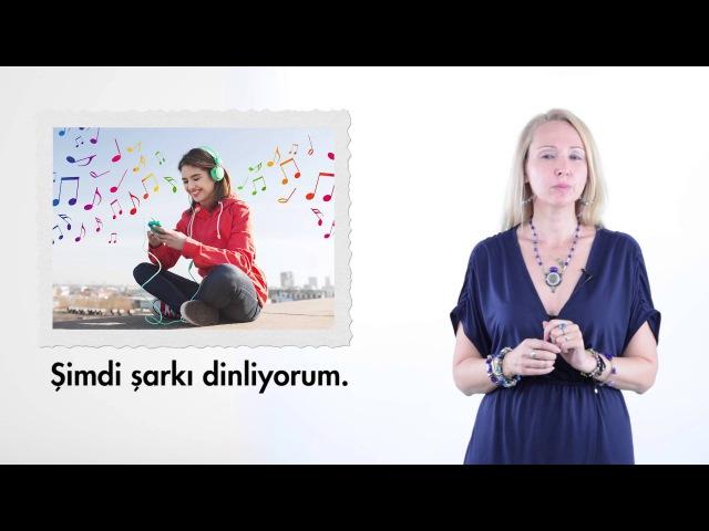 Образование в Турции 2 урок Определение действия Belirtme Durumu