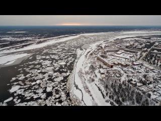 Ледостав на реке Печора