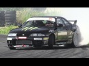 Nissan Skyline R33 Great Sounding RB25 Turbo Engine Drift!