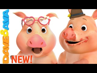 This Little Piggy | Nursery Rhymes | Nursery Rhymes and Kids Songs from Dave and Ava