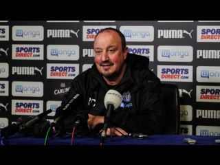 Benitez's pre-brighton media briefing