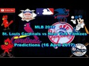 MLB The Show 17 St. Louis Cardinals vs New York Yankees Predictions MLB MLB2017 16 April 2017