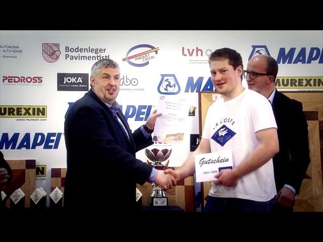 EUFA PF Europameisterschaft der Parkettleger 2016 - Campionati Europei dei Posatori di Parquet 2016