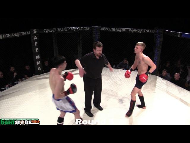 Nathan Duggan vs Nauris Bartoska - Cage Legacy 2