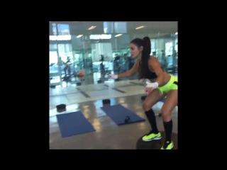 Andrea rincon ab, leg butt workouts (fitness bodyfitness bodybuilbing фитнес бодифитнес бодибилдинг)