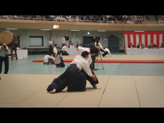 Aikido - Okamoto Yoko Shihan - 55th All Japan Aikido Demonstration (2017)